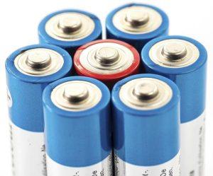 پتاسیم هیدروکسید در باتری