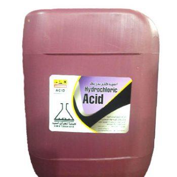 فروش هیدروکلریک اسید صنعتی
